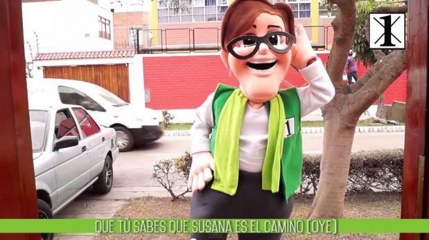 el video de la cancion atrevete de calle 13:
