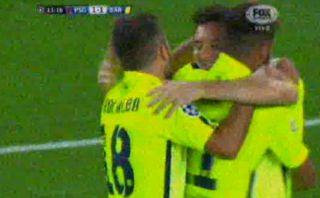 Messi, Neymar e Iniesta arman golazo con pases a un solo toque