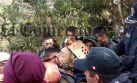 La primera imagen del espeleólogo español tras ser rescatado