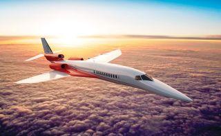 Crearán el avión de negocios más rápido del mundo