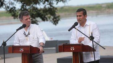 Humala y Santos acuerdan impulsar desarrollo de frontera común
