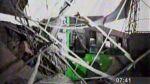 Huachipa: bus se empotró en restaurante y dejó dos heridos - Noticias de
