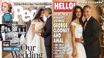Publican las primeras fotos de la boda de George Clooney - Noticias de