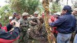 El rescate del español Cecilio López Tercero en imágenes - Noticias de ejército peruano