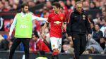 Ander Herrera, baja en el United por fractura de costilla - Noticias de wayne rooney