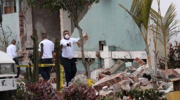 Policía reubicará departamento de explosivos de Surquillo