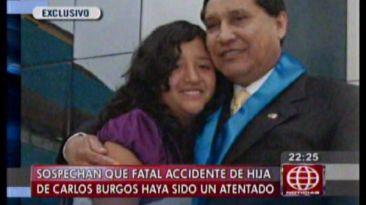 """""""Quizás buscaron atentar contra la hija de Carlos Burgos"""""""