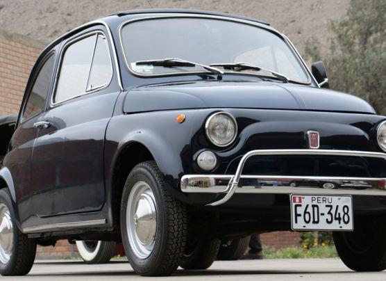 RELIQUIA: El pequeño Fiat 500L de 1971