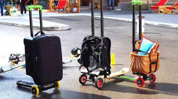 Recorre la ciudad con esta mochila que se convierte en scooter