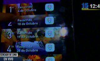 Aplicación permitirá saber ubicación del Señor de los Milagros