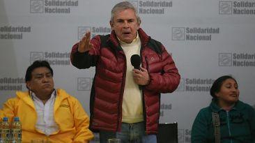 Castañeda no promoverá investigación a Villarán si es que gana