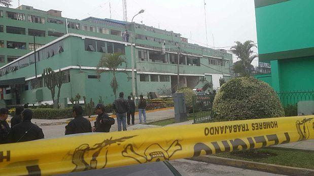 Oficina policial con explosivos no contaba con seguridad for El comercio oficinas