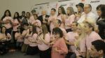 'Ponte Rosa': farándula se suma a campaña contra el cáncer - Noticias de carlos thorton