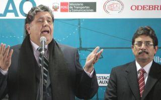 """Alan García: """"El aprismo y sus candidatos aumentan fuerzas"""""""