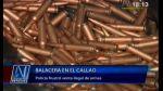 Policía quedó herido en balacera con banda que vendía armas - Noticias de divincri del callao