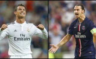 Entrenador del PSG comparó a Ibrahimovic con Cristiano Ronaldo