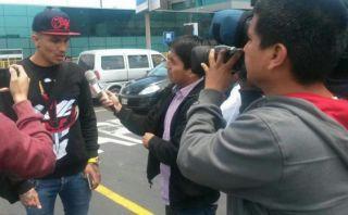 Paolo Guerrero llegó a Lima para amistoso frente a Chile