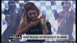 Vania Bludau bailó al estilo de Beyoncé en el set de Gisela - Noticias de miguel arce