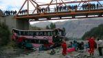 Elecciones 2014: al menos 12 muertos en accidente de Áncash - Noticias de vuelco