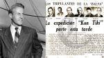 Así Ocurrió: En 1914 nace el explorador Thor Heyerdahl - Noticias de tradiciones peruanas