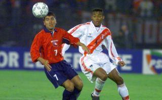 ¿Cuándo se jugó el primer partido entre Perú y Chile?