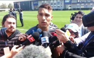"""Paolo Guerrero tras prácticas: """"Ante Chile no hay amistosos"""""""