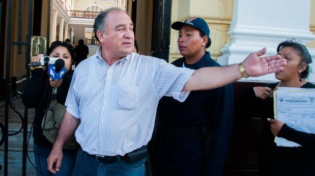 Alcalde de Chiclayo Roberto Torres fue capturado en Úcupe