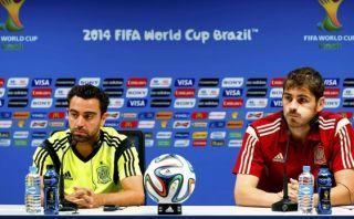"""Xavi sobre conversación con Casillas: """"Fue muy tensa"""""""