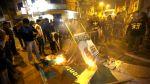 Queman carteles de Chimpum Callao en Carmen de la Legua - Noticias de mayor pnp