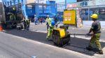 Reparan el asfalto de la avenida 28 de Julio en La Victoria - Noticias de ivan infanzon