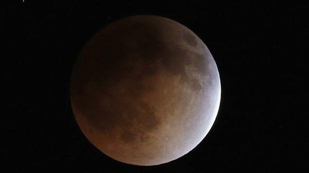 ¿El próximo eclipse total de luna podrá ser visto Perú?