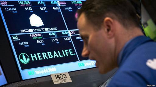 Herbalife es una compañía que dice vender sus productos en 90 países y en 2013 alcanzó ventas netas de US.800 millones.
