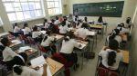 Estos son los mil colegios que tendrán más horas de clase - Noticias de departamento de cajamarca