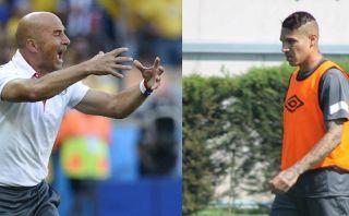 """Sampaoli teme: """"Jugarán con un súper delantero como Guerrero"""""""