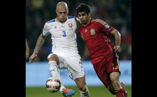 Diego Costa no anota pero sí se pelea con los rivales