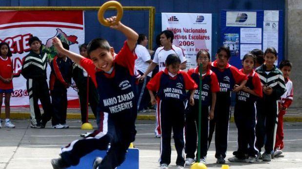Aumentan a 5 horas la práctica de Educación física en colegios
