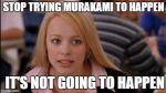 Twitter: memes se burlan de Murakami por quedarse sin el Nobel - Noticias de japon