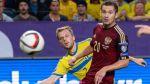 Suecia igualó 1-1 con Rusia con Ibrahimovic los 90' en la banca - Noticias de zlatan ibrahimovic