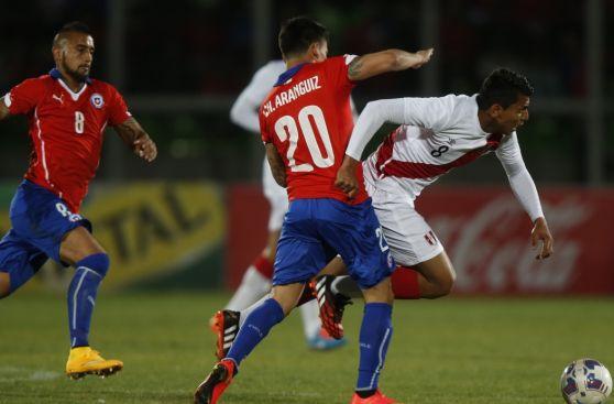 Chile vs. Perú: las imágenes que dejó la goleada en Valparaíso