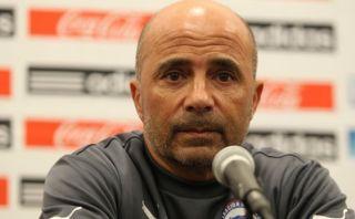 Jorge Sampaoli y sus palabras tras la goleada chilena a Perú