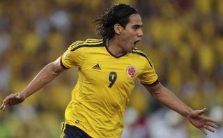 Falcao anotó tras casi un año con Colombia en 3-0 a El Salvador