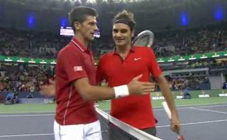 ¿Qué le dijo Djokovic a Federer al final del duelo en Shanghái?