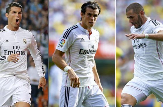 Así le va a los mejores tridentes en el fútbol de Europa