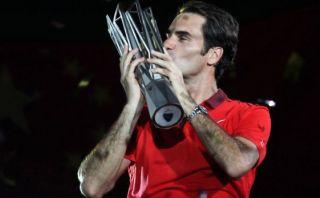 Roger Federer ganó por primera vez el Masters 1000 de Shanghái