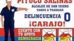 Los candidatos menos votados en los distritos de Lima - Noticias de maria magdalena lopez