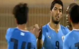 Suárez volvió a anotar para Uruguay casi cuatro meses después