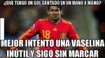 Diego Costa y los memes que generó por su primer gol con España - Noticias de