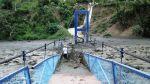 Desborde de río en Cusco causó colapso de puente peatonal - Noticias de provincia de chanchamayo