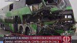 Choque en Chilca: fallecido fue llevado a morgue tras 12 horas - Noticias de accidentes en carreteras