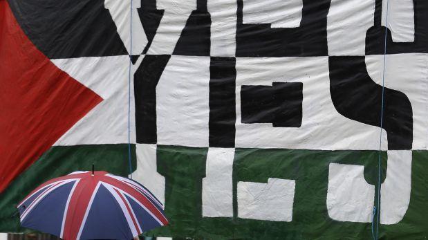 Parlamento británico apoya reconocimiento del Estado Palestino